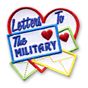 Letters To The Military Fun Patch