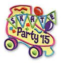 Skate Party '15 Fun Patch