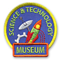 Science & Technology Museum Fun Patch
