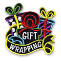 Gift Wrapping Fun Patch