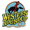 Western Round Up Fun Patch