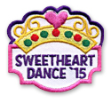 Sweetheart Dance '15 Fun Patch