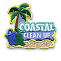 Coastal Clean Up Fun Patch