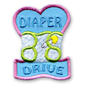 Diaper Drive Fun Patch