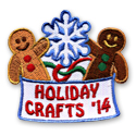 Holiday Crafts '14 Fun Patch