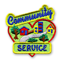 Community Service Fun Patch