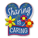Sharing is Caring Fun Patch