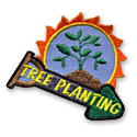 Tree Planting Fun Patch