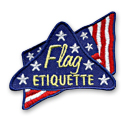 Flag Etiquette Fun Patch