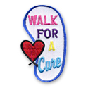 Walk For A Cure Fun Patch