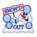 Snow'd Out Fun Patch