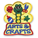 Arts & Crafts Fun Patch