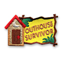 Outhouse Survivor Fun Patch