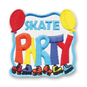 Skate Party Fun Patch