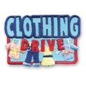 Clothing Drive Fun Patch