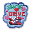 Shoe Drive Fun Patch