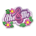 She & Me Fun Patch