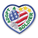 Adopt A Soldier Fun Patch