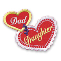 Dad & Daughter Fun Patch
