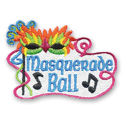 Masquerade Ball Fun Patch