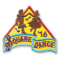 Square Dance '16 Fun Patch