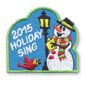 2015 Holiday Sing Fun Patch
