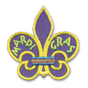 Mardi Gras Fun Patch