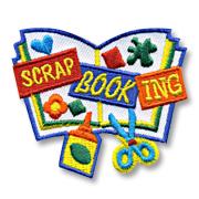 Scrap Booking Girl Scout Fun Patch