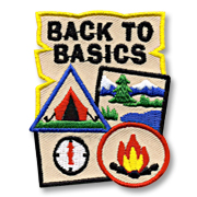 Back to Basics Girl Scout Fun Patch