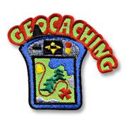 Geocaching Girl Scout Fun Patch