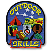 Outdoor Skills Girl Scout Fun Patch