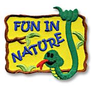Fun In Nature Girl Scout Fun Patch