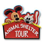 Animal Shelter Tour Girl Scout Fun Patch
