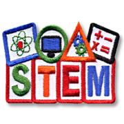 STEM Girl Scout Fun Patch