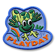 Playday Girl Scout Fun Patch