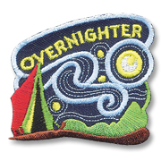 Overnighter Girl Scout Fun Patch