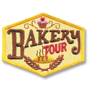 Bakery Tour Girl Scout Fun Patch