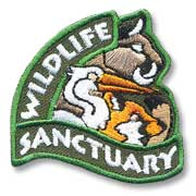 Wildlife Sanctuary Girl Scout Fun Patch