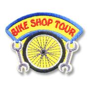 Bike Shop Tour Girl Scout Fun Patch
