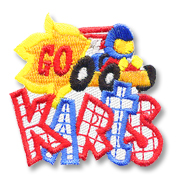 Go Karts Girl Scout Fun Patch