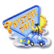 Mystery Trip Fun Girl Scout Fun Patch