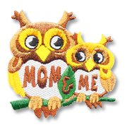 Mom & Me Girl Scout Fun Patch