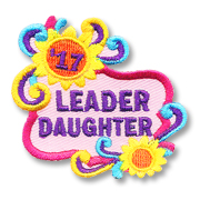 Leader Daughter '17 Girl Scout Fun Patch