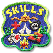 Skills Girl Scout Fun Patch
