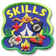 Skills Girl Scout Fun Patch