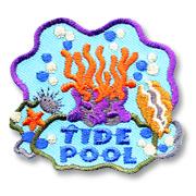 Tide Pool Girl Scout Fun Patch