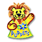 Puppets Girl Scout Fun Patch