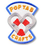 Pop Tab Crafts Girl Scout Fun Patch