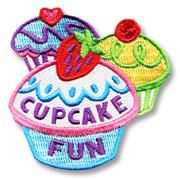 Cupckake Fun Girl Scout Fun Patch