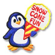 Snow Cone Fun Girl Scout Fun Patch